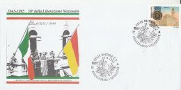 6774FM- LIBERATION OF RAVENNA TOWN, END OF WW2, HISTORY, SPECIAL COVER, 1995, ITALY - Seconda Guerra Mondiale
