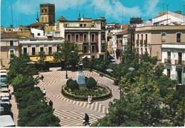 POSTCARD SPAIN ESPAÑA - BADAJOZ - PLAZA DE CERVANTES - Badajoz