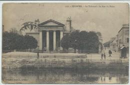 Quimper-Le Tribunal-La Rue Du Palais (CPA) - Quimper