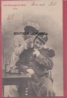 BERGERET --Les Cinq Sens De Pitou--L'ouie-----precurseur - Bergeret