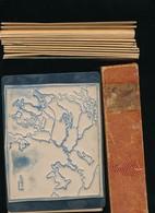 Vintage Rare Boite De 14 Grands Tampons D'école, Instituteur, Timbres Caoutchouc, , Timbre Tampon Cartes FRANCE Physique - Autres Collections
