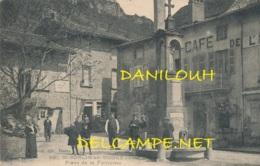 01 // SAINT SORLIN EN BUGEY   Place De La Fontaine    CACHET INDICE IV AU VERSO ** - France
