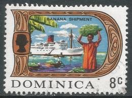 Dominica. 1969 QEII. 8c Used. SG 279 - Dominica (...-1978)
