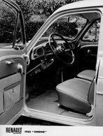REGIE DES USINES RENAULT DE BILLANCOURT - RENAULT DAUPHINE ONDINE - Automobiles