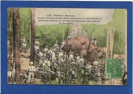 CPA Tonkin Indochine Asie Types Ethnic Moncay Pirates Circulé - Viêt-Nam