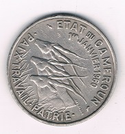 50 FRANCS 1960 KAMEROEN /4999G/ - Cameroon