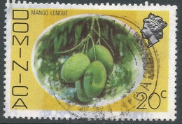 Dominica. 1975 QEII. 20c Used. SG 499 - Dominica (...-1978)