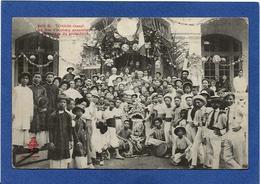 CPA Tonkin Indochine Asie Types Ethnic écrite Fête Annamite - Viêt-Nam