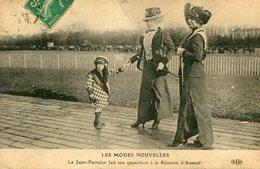 CHAMP DE COURSES(AUTEUIL) MODE(JUPE CULOTTE) - Hippisme