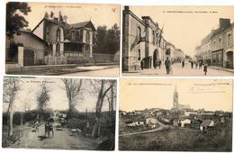 Lot 10 CPA  France  / Nort-sur-Erdre, Baugy, Colméry, Calvinet, Rougegoutte... / A Voir !!! - Postcards