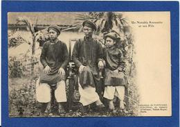 CPA Annam Indochine Asie Types Ethnic Non Circulé Notable Annamite - Viêt-Nam