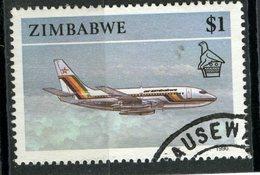 Zimbabwe 1990 $1.00 Jet Issue #630 - Zimbabwe (1980-...)