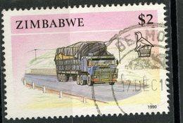 Zimbabwe 1990 $2.00 Truck Issue #631 - Zimbabwe (1980-...)