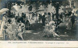 CHAMP DE COURSES(LONGCHAMP) MODE(JUPE CULOTTE) - Hippisme