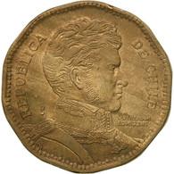Monnaie, Chile, 50 Pesos, 1993, TB+, Aluminum-Bronze, KM:219.2 - Chile