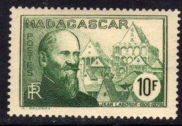 Madagascar N° 225 XX , Partie De Série :10 F. Vert Sans Charnière, TB - Nuovi