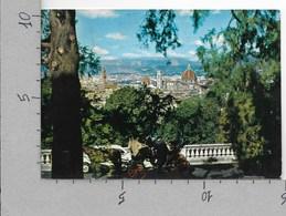 CARTOLINA VG ITALIA - FIRENZE - Una Veduta Da S. Miniato Al Monte - 10 X 15 - ANN. 1968 - Firenze