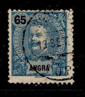 ! ! Angra - 1898 D. Carlos 65 R - Af. 30 - Used - Angra