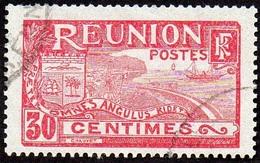Réunion Obl. N°  89 - Vue -> Rade De Saint Denis 30 Rose Et Lilas-rose - Réunion (1852-1975)