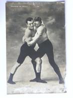 CP - Carte Photo - Sport Lutte - Ceinture De Devant - Constant Le Boucher - Wrestling