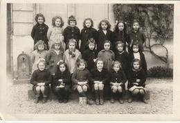 Photo De Classe 170 Mm X115 Mm   - Années 50/60 - Ecole Des Filles Talence 33 - Scan R/V - Personnes Anonymes