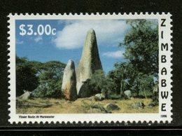 Zimbabwe 1996 $3.00 Finger Rocks Issue #763  MNH - Zimbabwe (1980-...)