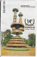 Burkina Faso - Onatel - 14th Fespaco '95, 02.1995, 100Units, Used - Burkina Faso