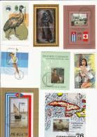 64 Hojas Bloques Diferentes Usadas De Cuba - Sellos
