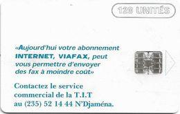 Chad - ONPT - Internet 2 (Old Schlumberger Logo), 120Units, SC7, Used - Tschad