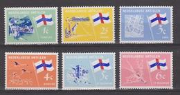 Netherlands Nederlandse Antillen 358-363 MNH ; Eilanden Islands 1965 - Curacao, Netherlands Antilles, Aruba