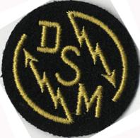DSM Détecteur Anti Sous Marin  Officier Marinier Insigne Tissu De Spécialité MARINE - Marine