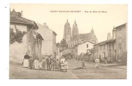 Saint- Nicolas - Du - Port. Rue Du Haut- Du - Mont. - Saint Nicolas De Port