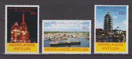 Netherlands Nederlandse Antillen 355-357 MLH ; 50 Jaar Olie Industrie Curacao 1965 - Curaçao, Nederlandse Antillen, Aruba