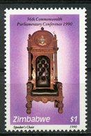 Zimbabwe 1990 $1.00 Speakers Chair Issue #613  MNH - Zimbabwe (1980-...)