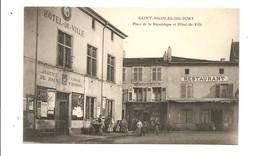 Saint- Nicolas - Du - Port. Place De La République Et Hôtel- De - Ville. - Saint Nicolas De Port