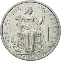 Monnaie, French Polynesia, 2 Francs, 1995, Paris, TTB, Aluminium, KM:10 - Polynésie Française