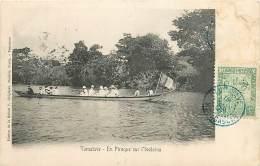 MADAGASCAR , Tamatave , En Pirogue Sur L'Ivoloina , * 285 79 - Madagascar