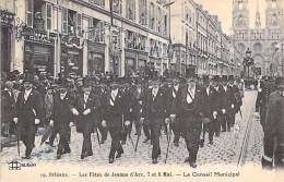 EVENEMENTS ( FRANCE ) 45 - ORLEANS : Les FETES JEANNE D'ARC (7 Et 8 Mai) Le Conseil Municipal - CPA - Loiret - Evénements