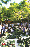 MALDIVES ISL.(chip) - Locally Harvested Water Melons, CN : 0299, Used - Maldives