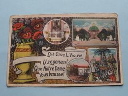 Dat Onze L. Vrouw U Zegenen ! Que Notre Dame Vous Benisse ( D. Stalmans ) Anno 19?? ( Zie Foto's ) ! - Scherpenheuvel-Zichem