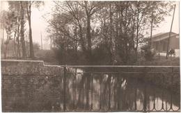 Dépt 80 - MÉRICOURT-L'ABBÉ - ÉPREUVE De CARTE POSTALE (photo R. LELONG) + PLAQUE De VERRE D'origine - L'Ancre (rivière) - France