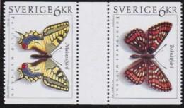 Sweden   .     Facit   .    1798 + 1801           .    MNH   .   /.    Postfris - Ungebraucht