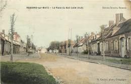 60 , RESSONS SUR MATZ , La Place Du Bail , * 286 35 - Ressons Sur Matz