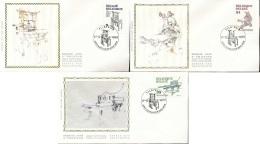 """D- [66657] FDC-N° 2309/11 - FDC - Imprimerie, Anciennes Presses De Musée - """"""""KAPELLE-OP-DEN-BOSS"""""""", SC, SNC - Musées"""