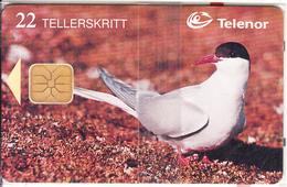 SVALBARD ISL.(chip) - Arctic Tern(115), Tirage 16000, 03/98, Mint - Svalbard