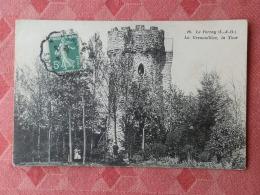 Dep 78 , Cpa  Le PERRAY , 10 , La Grenouillère , La Tour  (14.121) - Le Perray En Yvelines