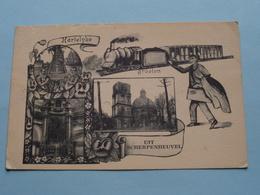 Hartelijke Groeten Uit SCHERPENHEUVEL ( D. Stalmans ) Anno 1936 ( Zie Foto's ) ! - Scherpenheuvel-Zichem