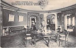BANQUES - 75 PARIS - Banque CREDIT LYONNAIS ( CL LCL ) Siège Du Bld Italiens : Salon Réception Bureau Etrangers - CPA - Banken