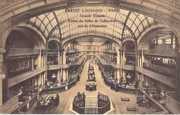 BANQUES - 75 PARIS - Banque CREDIT LYONNAIS ( CL LCL ) Siège Du Bld Italiens : Grande Coupole / Entrée Salle Des Coffres - Banken