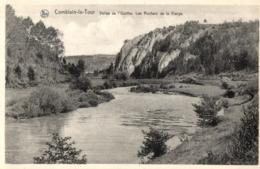 BELGIQUE - LIEGE - HAMOIR - COMBLAIN-LA-TOUR - Vallée De L'Ourthe. Les Rochers De La Vierge. - Hamoir